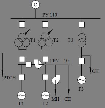 Вариант 2 – схема, в которой