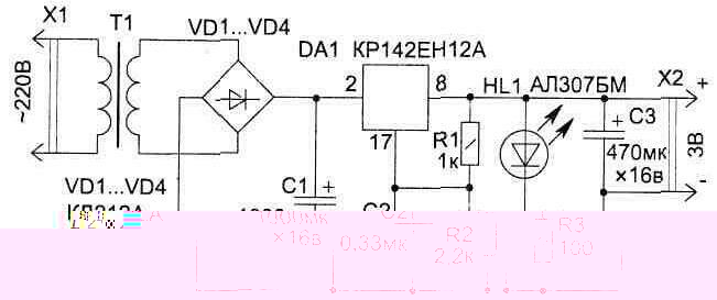 Рисунок 6.2 тАУ Схема